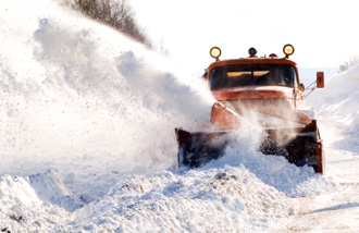 Snow Plowing Services Great Lakes Construction Kenosha Wi